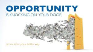 security National life money door